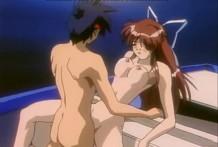 sexo anime bella mujer hentai en 4