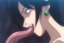 Follando con mostro hentai Anime