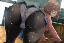 Rica follada con profe guarra caliente hentai anime