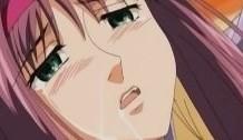 Anime hentai colegiala mojada