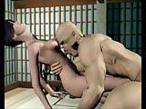 Mostro ninja se folla a linda nena que pide sexo
