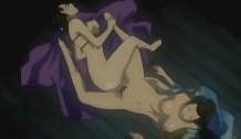 Lesbianas calientes follando en el piso