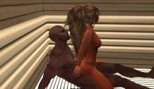 Follada en el Sauna 3D con morenos Arrechos calientes