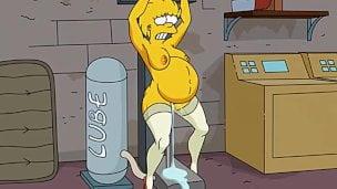 los Simpson porno